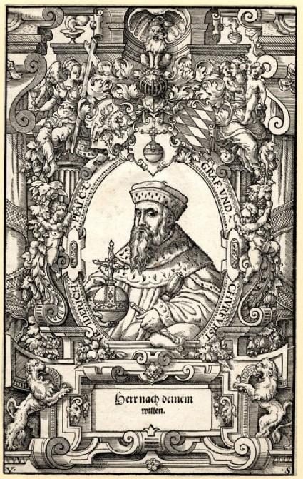Portrait of Friedrich von der Pfalz