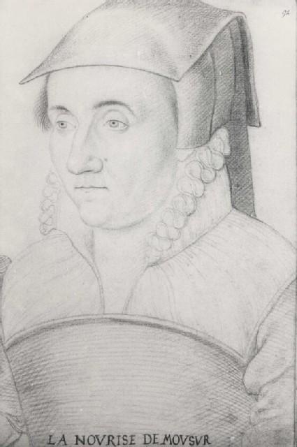 Head of an unidentified Woman