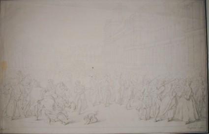 Mehemet Effendi entering the Tuileries in 1721