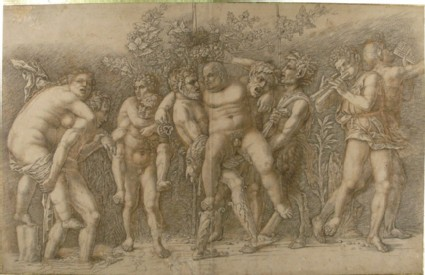 Bacchanal with Silenus
