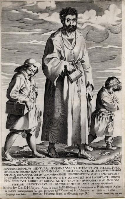 Giovanni Leonardo Geruso, a mendicant friar