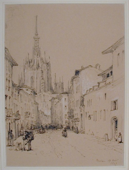 The Cathedral from the South, Milan
