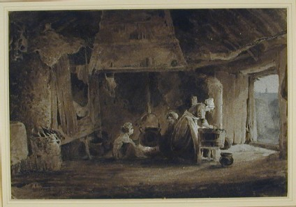 A Cottage Interior, Waterford