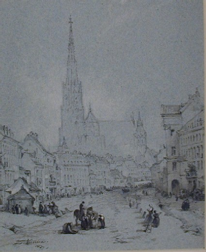 St Stephen's Cathedral, Vienna, from the North
