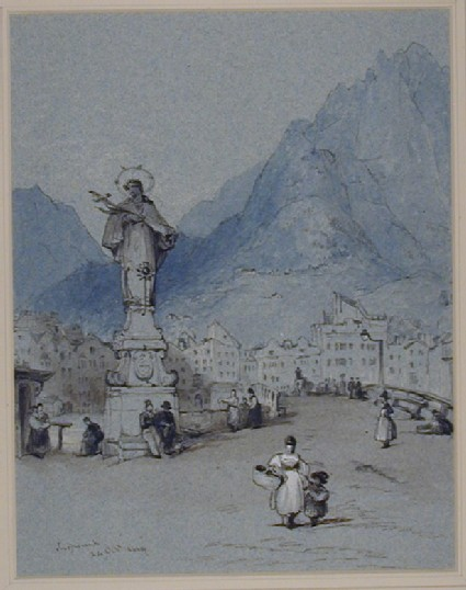 A Monument at Innsbruck