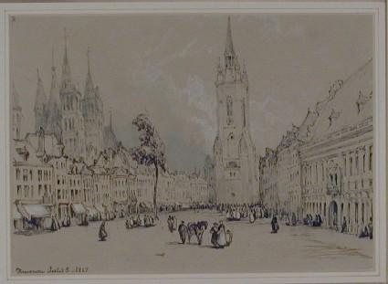 The Grand'Place, Tournai