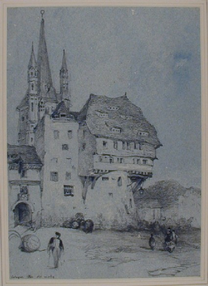 The old City Walls, Cologne