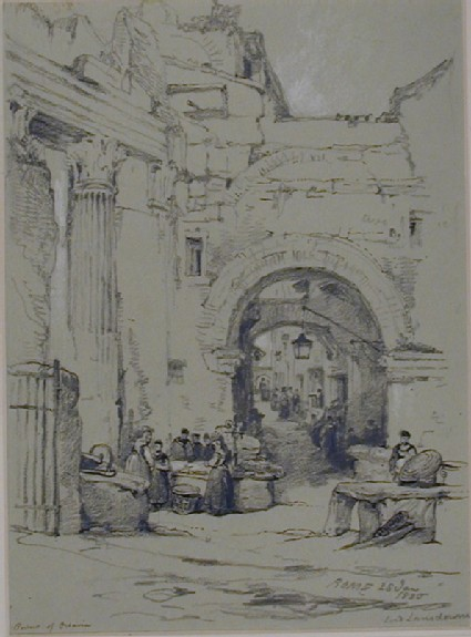 The Portico of Octavia, Rome