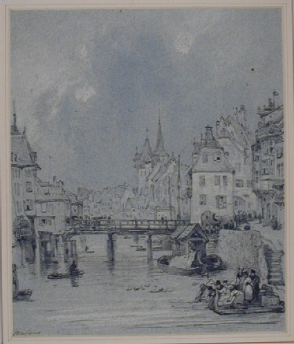 Bridge over the Ill, Strasbourg