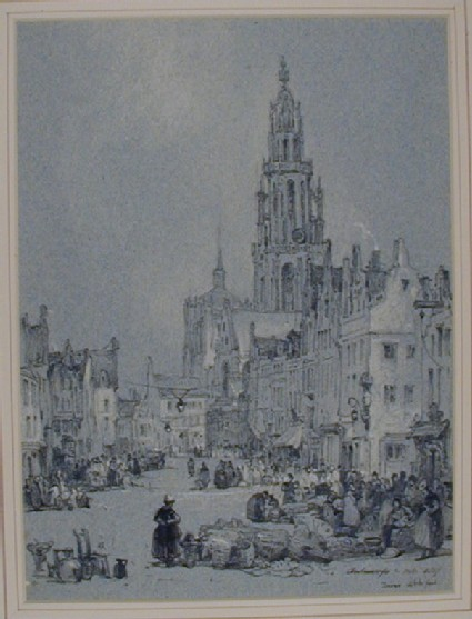 The Egg Market (Eiermarkt) in Antwerp
