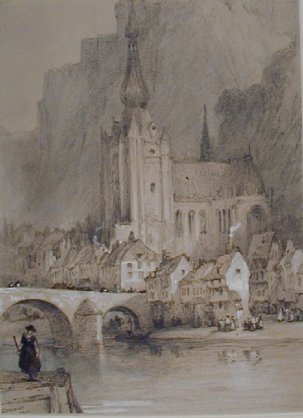 Notre Dame across the Meuse, Dinant