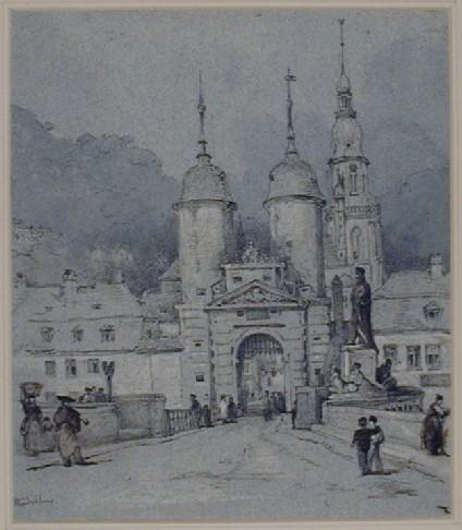 Town Gate, Heidelberg