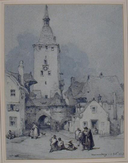 A Street in Nuremberg