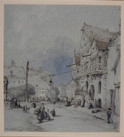 A Street in Wiesbaden