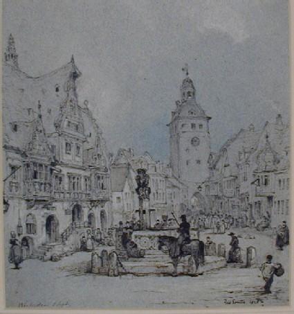 The Marktplatz, Wiesbaden