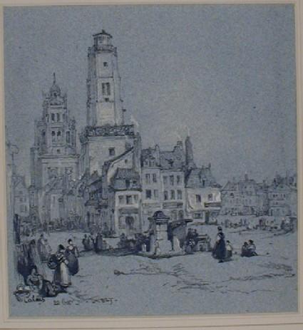 A Scene in Calais