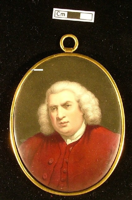 Portrait of Dr Samuel Johnson