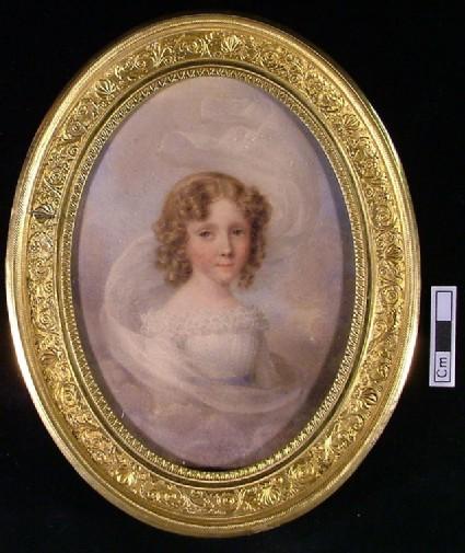 Portrait of Princess Clementina d'Orleans