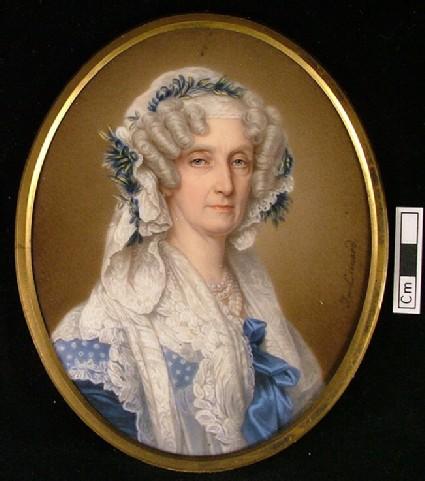 Portrait of Queen Marie Amélie