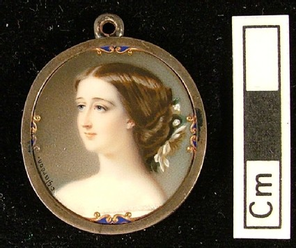 Portrait of Empress Eugenie
