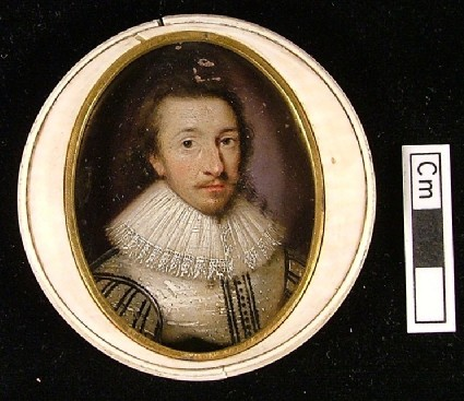Man in a Black and White Doublet