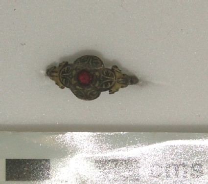 Silver-gilt ornamental ring