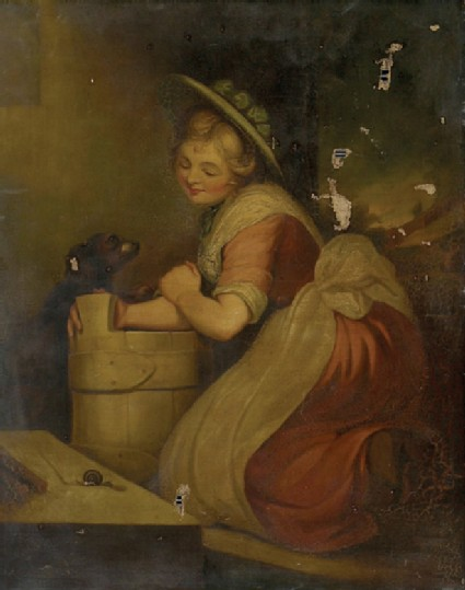 The Milkmaid and the Snail