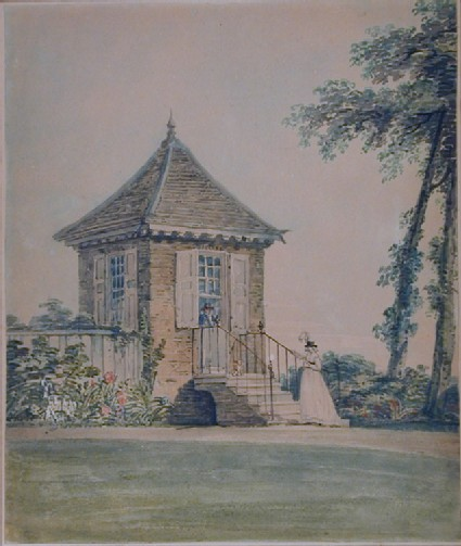 The Summer-house in the Garden of Mr Samuel Wood at Southgate