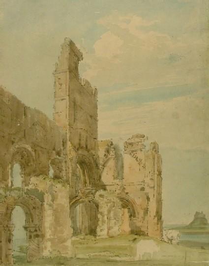 Lindisfarne Abbey, Northumberland