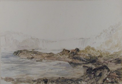 The Falls of Niagra