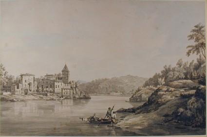Scene on the Rhône