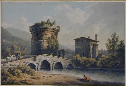 Tomb of the Plautian Family, near Tivoli and Ponte Lucano