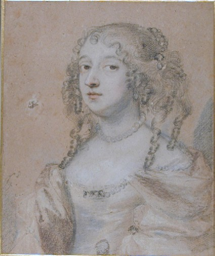 Portrait of a Lady (possibly Catherine Villiers, Countess of Pembroke)