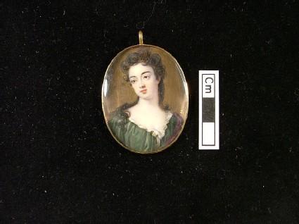Lady in a Green Dress