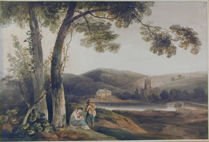 Landscape with a River and Figures