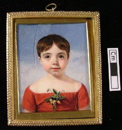 Portrait of James Henry Leigh Hunt aged 7 years