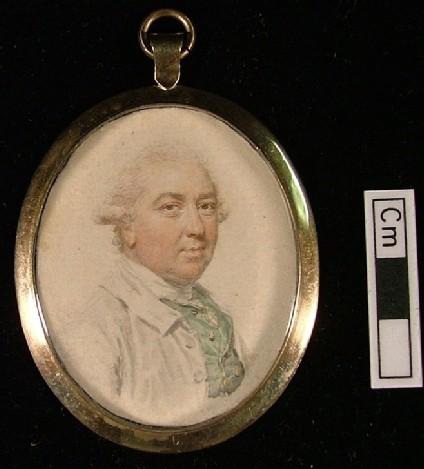 Portrait of Mr Plomer