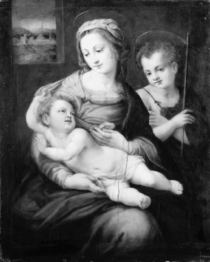 The Virgin and Child with the young St John the Baptist