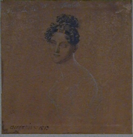 Study for the portrait of a woman