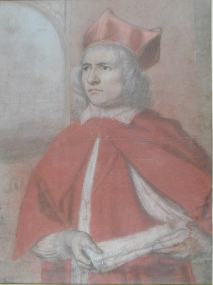 Portrait of Henry Harris as Cardinal Wolsey