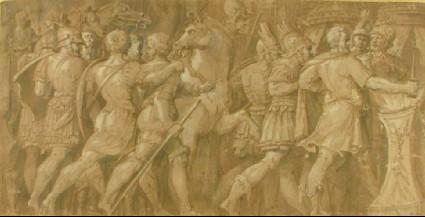 The Fortitude of Mucius Scaevola