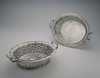 Basket, one of a pair