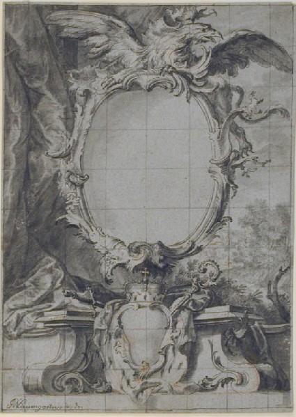 Design for an engraved ornamental Border