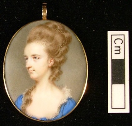 Portrait of Sarah Buxton, later Mrs Charles Dumbleton