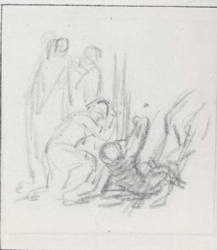 Four Figures by the Foot of the Cross