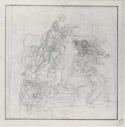 Compositional Study of three Figures and Putti