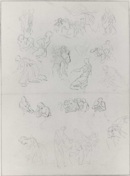 Sheet of Figure Studies