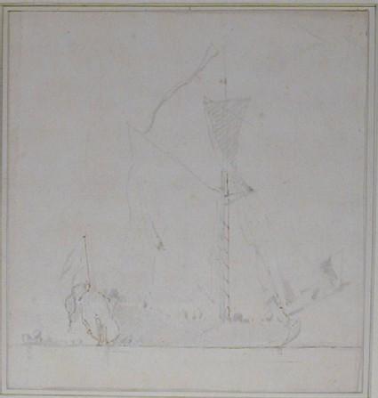 A Dutch Ship becalmed