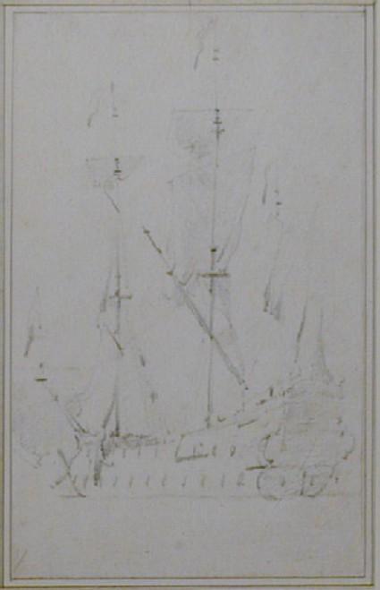 An English Yacht becalmed