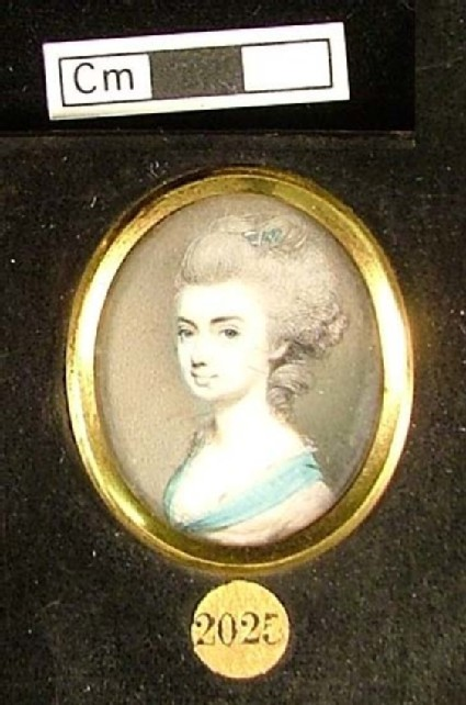 Portrait of Frances Sutherland, the first wife of A.H. Sutherland, nee Beckwith
